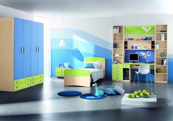 Mẫu thiết kế nội thất phòng ngủ cho bé trai sáng tạo đẹp tại tphcm